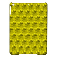 Hexagon Cube Bee Cell  Lemon Pattern Ipad Air Hardshell Cases