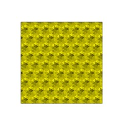 Hexagon Cube Bee Cell  Lemon Pattern Satin Bandana Scarf