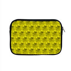Hexagon Cube Bee Cell  Lemon Pattern Apple Macbook Pro 15  Zipper Case