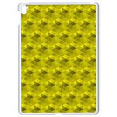 Hexagon Cube Bee Cell  Lemon Pattern Apple Ipad Pro 9 7   White Seamless Case by Cveti
