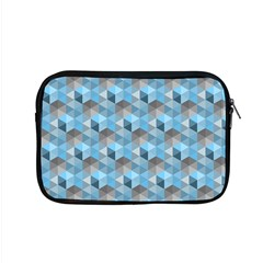 Hexagon Cube Bee Cell  Blue Pattern Apple Macbook Pro 15  Zipper Case