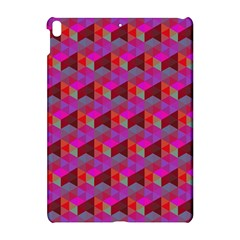 Hexagon Cube Bee Cell  Red Pattern Apple Ipad Pro 10 5   Hardshell Case by Cveti