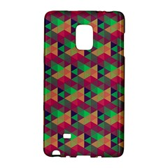 Hexagon Cube Bee Cell Pink Pattern Galaxy Note Edge