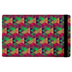 Hexagon Cube Bee Cell Pink Pattern Apple Ipad Pro 9 7   Flip Case by Cveti