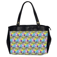 Hexagon Cube Bee Cell 1 Pattern Office Handbags (2 Sides)  by Cveti
