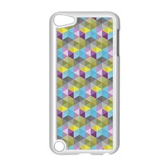 Hexagon Cube Bee Cell 1 Pattern Apple Ipod Touch 5 Case (white)