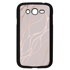 Rose Gold, Wave,beautiful,feminine,chic,elegant,metallic,modren,wedding,pink,trendy Samsung Galaxy Grand Duos I9082 Case (black) by 8fugoso