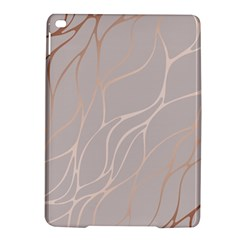 Rose Gold, Wave,beautiful,feminine,chic,elegant,metallic,modren,wedding,pink,trendy Ipad Air 2 Hardshell Cases by 8fugoso