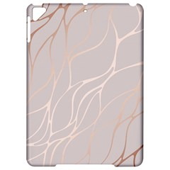 Rose Gold, Wave,beautiful,feminine,chic,elegant,metallic,modren,wedding,pink,trendy Apple Ipad Pro 9 7   Hardshell Case by 8fugoso