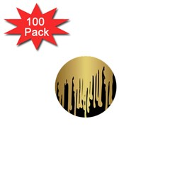 Drip Cold 1  Mini Buttons (100 Pack)  by 8fugoso