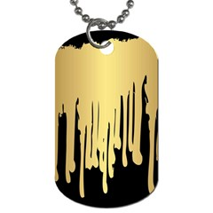 Drip Cold Dog Tag (one Side) by 8fugoso
