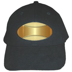 Gold8 Black Cap by 8fugoso