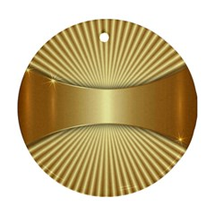 Gold8 Ornament (round) by 8fugoso