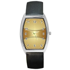 Gold8 Barrel Style Metal Watch by 8fugoso