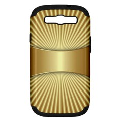 Gold8 Samsung Galaxy S Iii Hardshell Case (pc+silicone) by 8fugoso