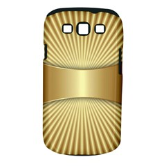 Gold8 Samsung Galaxy S Iii Classic Hardshell Case (pc+silicone) by 8fugoso