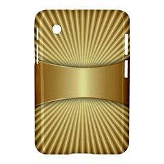 Gold8 Samsung Galaxy Tab 2 (7 ) P3100 Hardshell Case  by 8fugoso