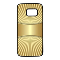 Gold8 Samsung Galaxy S7 Black Seamless Case by 8fugoso