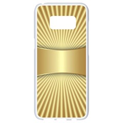 Gold8 Samsung Galaxy S8 White Seamless Case by 8fugoso