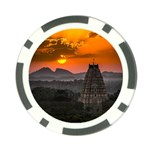 Beautiful Village Of Hampi Poker Chip Card Guard (10 pack) Front