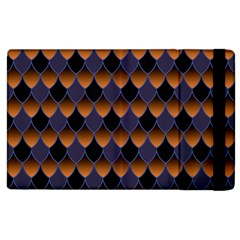3squama Fhish Dark Apple Ipad 3/4 Flip Case by Cveti