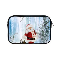 Santa Claus With Funny Penguin Apple Macbook Pro 13  Zipper Case by FantasyWorld7