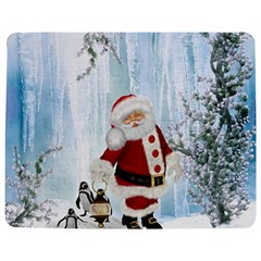 Santa Claus With Funny Penguin Jigsaw Puzzle Photo Stand (rectangular) by FantasyWorld7