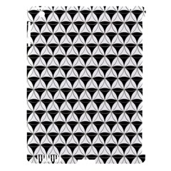 Diamond Pattern White Black Apple Ipad 3/4 Hardshell Case (compatible With Smart Cover) by Cveti