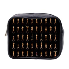 85 Oscars Mini Toiletries Bag 2 Side by Celenk