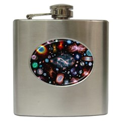 Galaxy Nebula Hip Flask (6 Oz) by Celenk