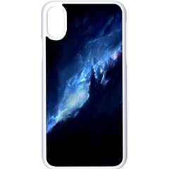 Nebula Apple Iphone X Seamless Case (white)