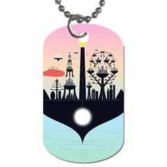 Future City Dog Tag (two Sides)
