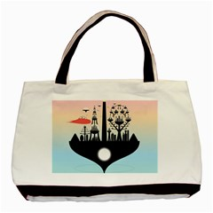 Future City Basic Tote Bag