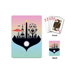 Future City Playing Cards (mini)