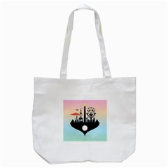 Future City Tote Bag (white)