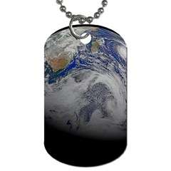 A Sky View Of Earth Dog Tag (two Sides)