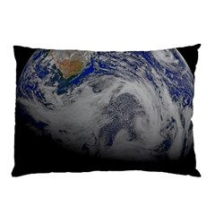 A Sky View Of Earth Pillow Case (two Sides) by Celenk