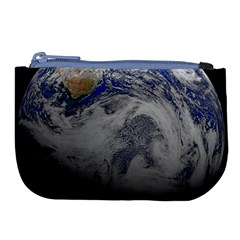 A Sky View Of Earth Large Coin Purse by Celenk