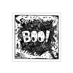 Monster Art Boo! Boo2 Satin Bandana Scarf by Celenk