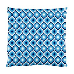 Blue Leaves Eyes Standard Cushion Case (one Side) by Cveti