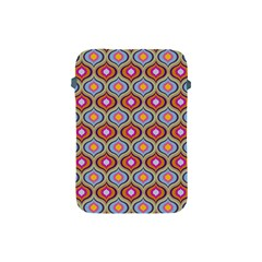 Blue Leaves Eyes Pattern Apple Ipad Mini Protective Soft Cases by Cveti