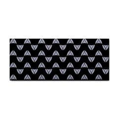 Wave Pattern Black Grey Cosmetic Storage Cases by Cveti