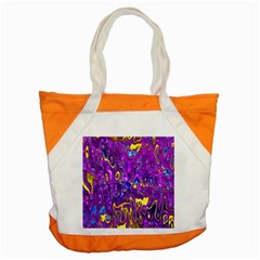 Melted Fractal 1a Accent Tote Bag