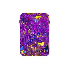 Melted Fractal 1a Apple Ipad Mini Protective Soft Cases by MoreColorsinLife