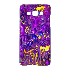 Melted Fractal 1a Samsung Galaxy A5 Hardshell Case  by MoreColorsinLife