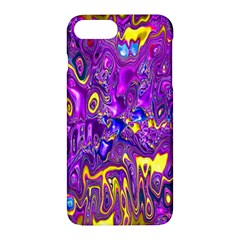 Melted Fractal 1a Apple Iphone 7 Plus Hardshell Case