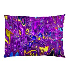 Melted Fractal 1a Pillow Case by MoreColorsinLife
