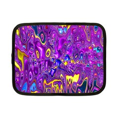 Melted Fractal 1a Netbook Case (small)  by MoreColorsinLife