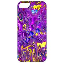 Melted Fractal 1a Apple Iphone 5 Classic Hardshell Case by MoreColorsinLife