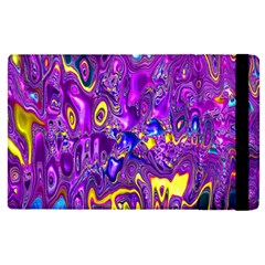 Melted Fractal 1a Apple Ipad Pro 12 9   Flip Case by MoreColorsinLife
